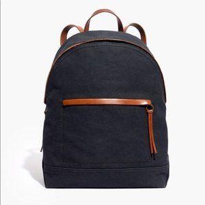 Madewell Charleston Backpack - Black Sea